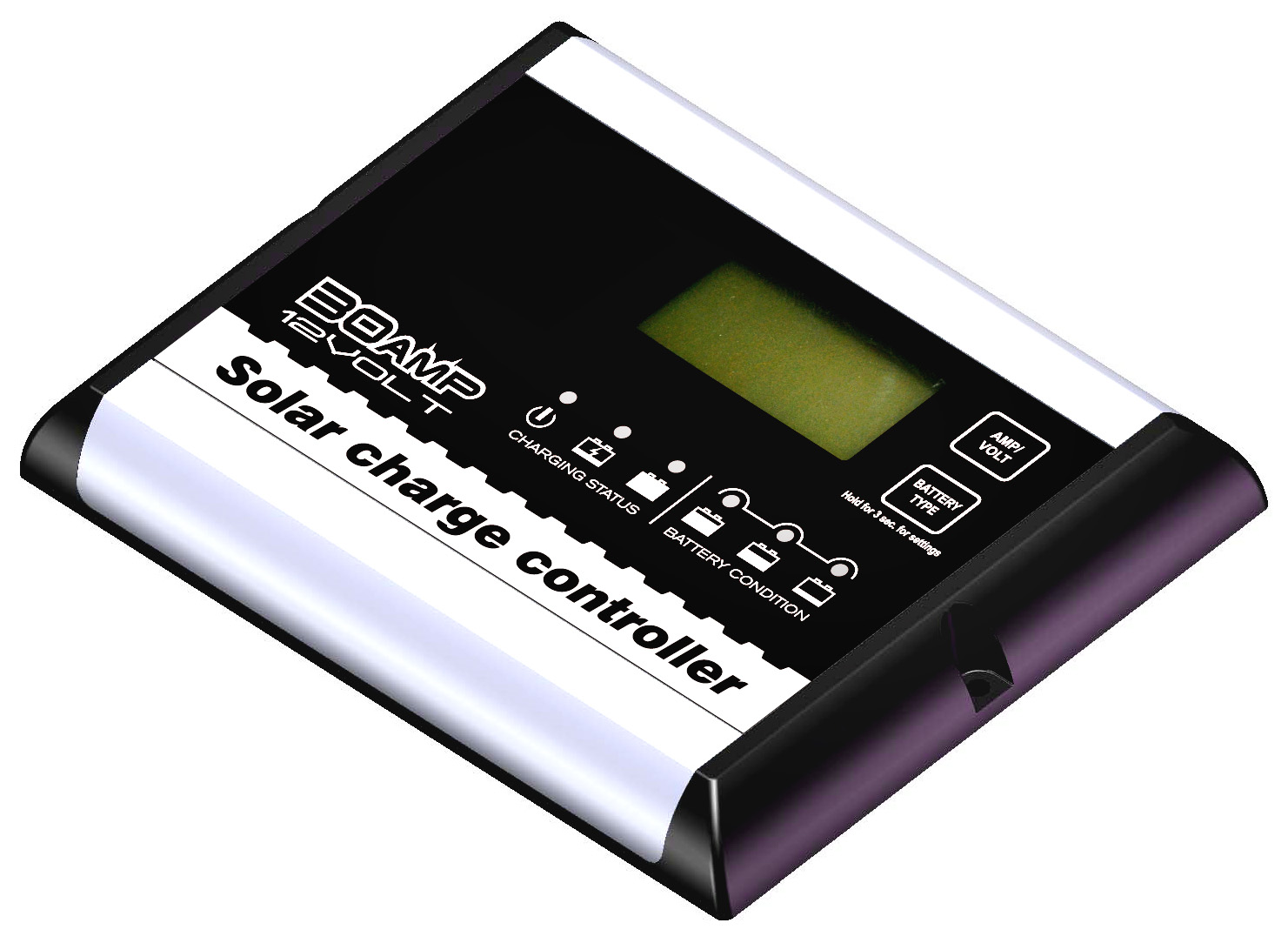 30A/12V Ditital Solar Charge Controller