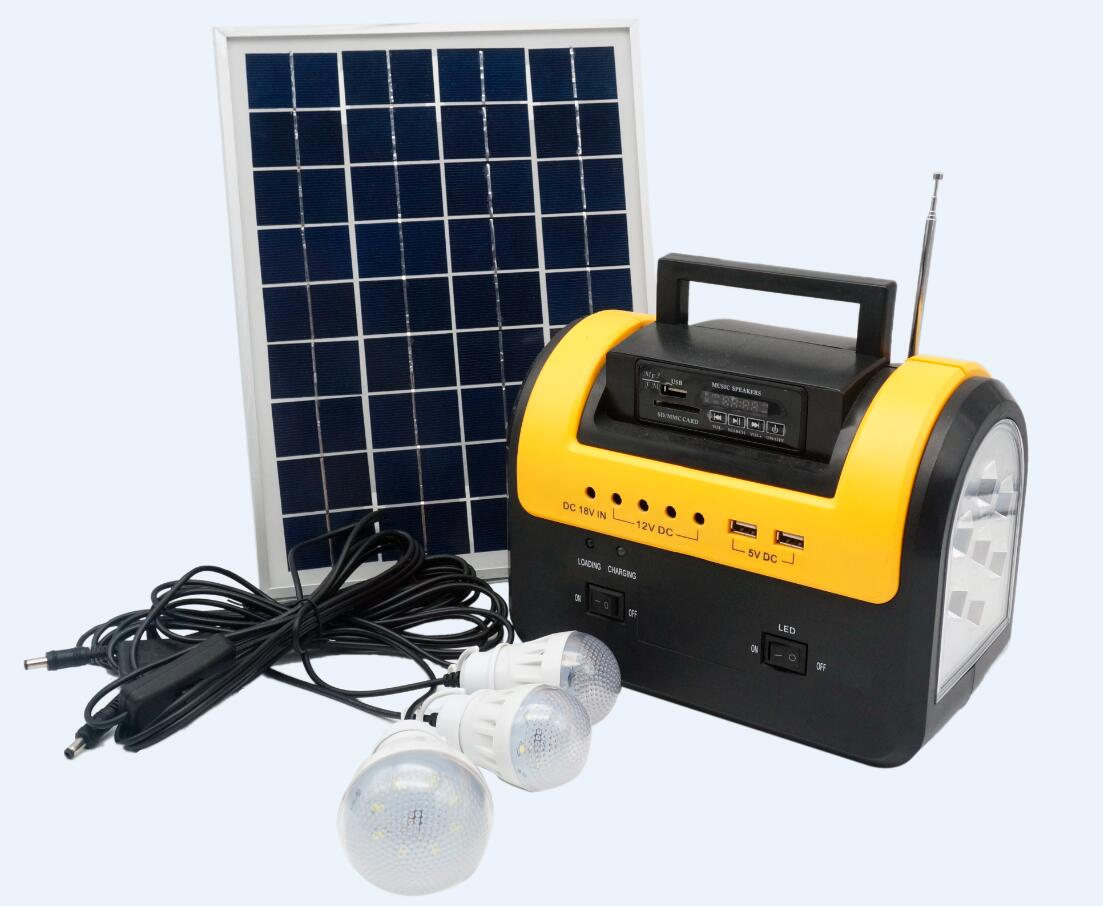 Solar DC Lighting Kit